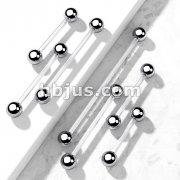 Bio Flex   Surface Piercing Barbell