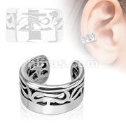 Tribal Brass Non Piercing Ear Cuff