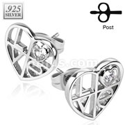 Pair of .925 Silver