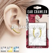 Pair of Shooting Star Prepacked Ear Crawler/Ear Climber