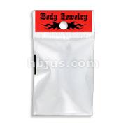 100pcs Self Adhesive Hangable Polybag