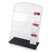 Clear Acrylic Stand Display with 12 Hangers