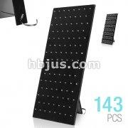 Black Velvet 113 Clip Hardwood Board with Adjustable Stand