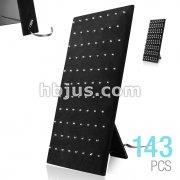 Black Velvet 83 Clip Hardwood Board with Adjustable Stand
