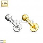 Labret Monroe 14 Karat Solid Gold