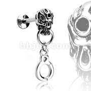 Handcuff Dangle Top Labret