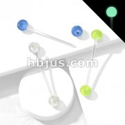 Glow in the Dark BallsPregnancy Belly Ring