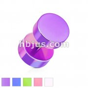 Pearl Coated All Acrylic Fake Plug