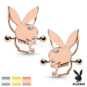 Pair of Playboy Bunny Double Tier Nipple Shields