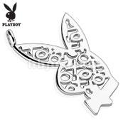 Playboy Logo XOXO 316L Surgical Steel Bunny Pendant