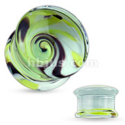 Yellow Whirlpool Pyrex Glass Double Flared Plugs