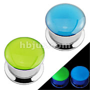 Glow in the Dark Screw Fit 316L Surgical Steel