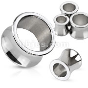 Saddle Fit Tunnel Plug 316L Surgical Steel