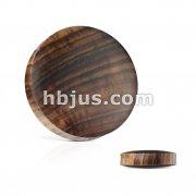 Sono Wood Saddle Fit Solid Organic Plug