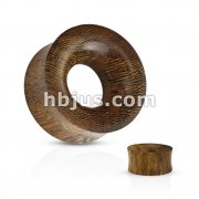 Concave Hollow Saddle Fit Snakewood Organic Tunnel