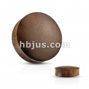 Convex Saddle Fit Snakewood Organic Plug