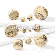 Spalted Tamarind Wood Saddle Plug
