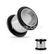 Plug Tube 316L Stainless Steel w/ O-Rings