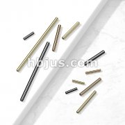 10 Pc Pack 316L Surgical Steel Internally Threaded Barbell Post