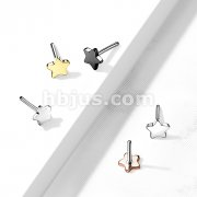 Implant Grade Titanium Threadless Push In Star Tops