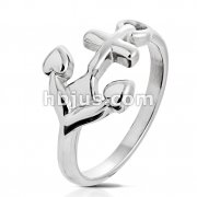Anchor Stainless Steel Ring