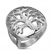 Tree of Life Stainless Steel CastingRing