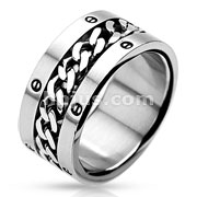 Chain Center Bolted Rings 316L Stainless Steel Ring