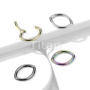 Implant Grade Titanium Oval Hinged Segment Ring