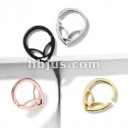 All 316L Surgical Steel Alien Bendable Hoop Rings For Ear Cartilage, Daith, Nose Septum and More