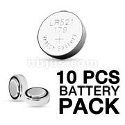 10pcs Battery Pack Blink Ear Ring