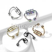 316L Fake Magnetic Septum Horseshoe