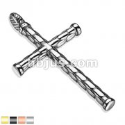 316L Stainless Steel Cross Pendants