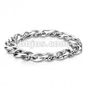 Twisted Snake Skin 316L Stainless Steel Bracelet