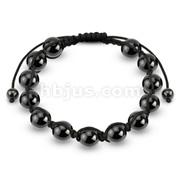 Hematite Metallic Beads Bracelet