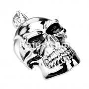 X-Large Death Skull 316L Stainless Steel Pendant