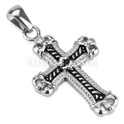 Casted Cross Stainless Steel Pendant