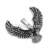Burnished finish Flying Eagle Stainless Steel Pendants