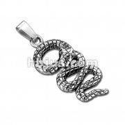 Snake Stainless Steel Pendant