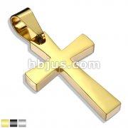 Latin Cross Stainless Steel Pendant