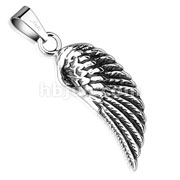Angel Wing Stainless Steel Pendant