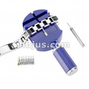 Bracelets & Watches Sizing Tool with 3 Drift Pins and One Handheld Push Pin