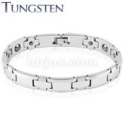 Steel Edge Tungsten Bracelet