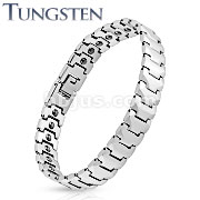 Panther Link Tungsten Carbide Bracelet