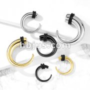 316L Surgical Stainless Steel Hook Tapers