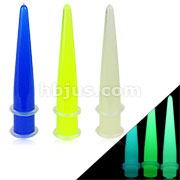 All Glow in the Dark Expanders with 2-Clear O-rings