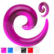 Spiral Acrylic Taper