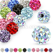 10 Pcs of Ferido Crystal Paved Replacement Ball Pack